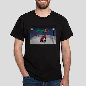 Holiday Skating Dark T-Shirt