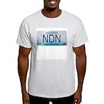 Missouri NDN license plate Ash Grey T-Shirt