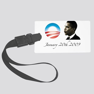 obama25 Large Luggage Tag