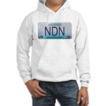 Missouri NDN license plate Hooded Sweatshirt