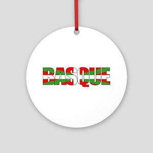 BASQUE! Ornament (Round)