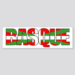 BASQUE! Bumper Sticker