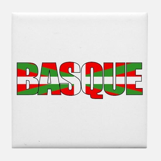 BASQUE! Tile Coaster