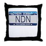New York NDN Throw Pillow