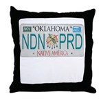 Oklahoma NDN Pride Throw Pillow