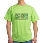 Oklahoma NDN Pride Green T-Shirt