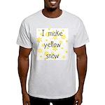 I Make Yellow Snow Ash Grey T-Shirt