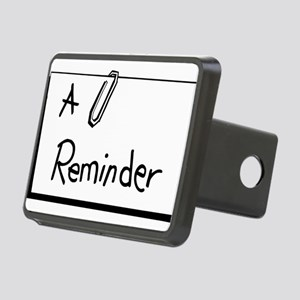 A Reminder Rectangular Hitch Cover