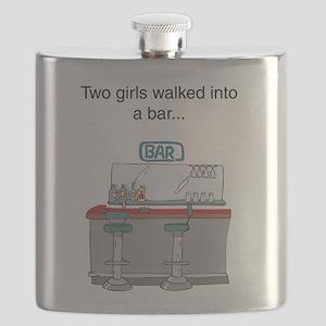 2 girls bar Flask
