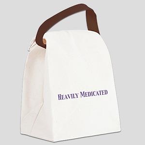Heavilypurp Canvas Lunch Bag