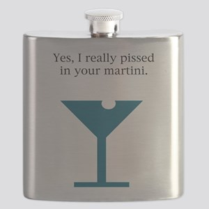 pissed martini Flask