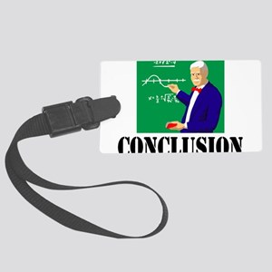 Conclusion Large Luggage Tag