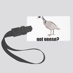 Got geese? Large Luggage Tag