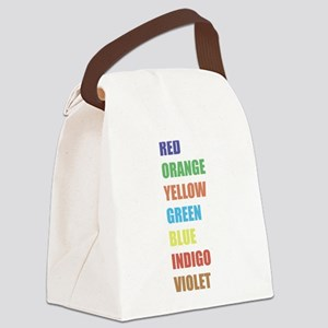 ROYGBIV Canvas Lunch Bag