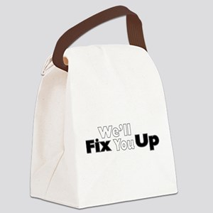 Well Fix You Up Canvas Lunch Bag