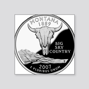 "Montana Square Sticker 3"" x 3"""