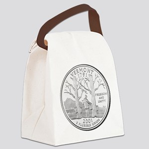 Vermont State Quarter Canvas Lunch Bag