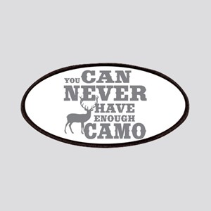 Hunting Camo Humor Patches