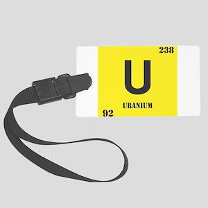 Uranium Large Luggage Tag