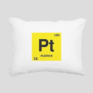 Platinum Rectangular Canvas Pillow