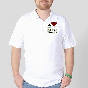 Heart Misses Steve Hardy Golf Shirt