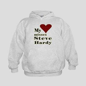 Heart Misses Steve Hardy Kids Hoodie