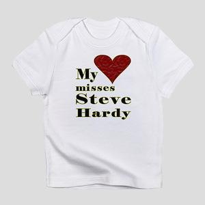 Heart Misses Steve Hardy Infant T-Shirt