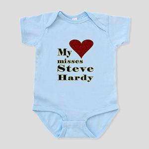 Heart Misses Steve Hardy Infant Bodysuit