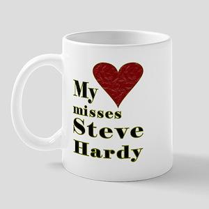 Heart Misses Steve Hardy Mug