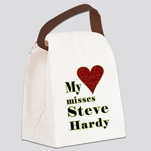 Heart Misses Steve Hardy Canvas Lunch Bag