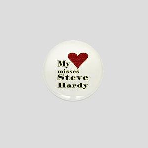 Heart Misses Steve Hardy Mini Button