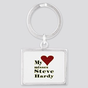 Heart Misses Steve Hardy Landscape Keychain