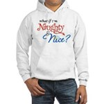 Naughty & Nice Hooded Sweatshirt