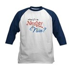 Naughty & Nice Kids Baseball Jersey