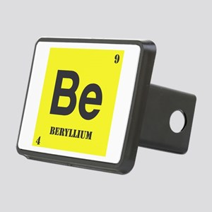Beryllium Rectangular Hitch Cover