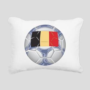 Belgium Championship Soccer Rectangular Canvas Pil