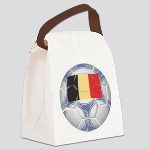 Belgium Championship Soccer Canvas Lunch Bag