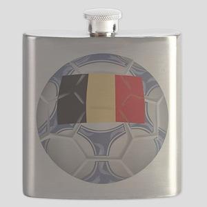 Belgium Championship Soccer Flask
