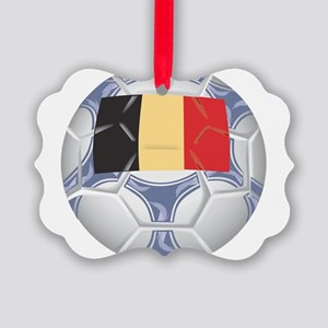 Belgium Championship Soccer Picture Ornament
