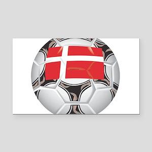 Championship Denmark Soccer Rectangle Car Magnet