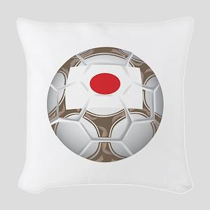 Championship Japan Soccer Woven Throw Pillow