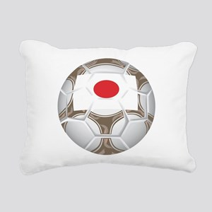 Championship Japan Soccer Rectangular Canvas Pillo