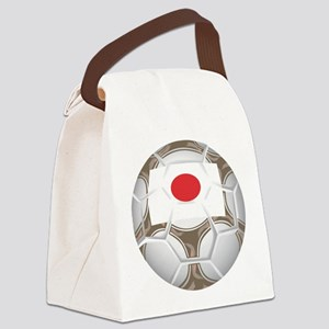 Championship Japan Soccer Canvas Lunch Bag