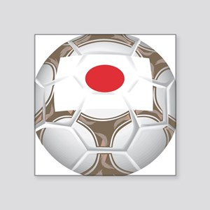 "Championship Japan Soccer Square Sticker 3"" x 3"""