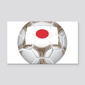 Championship Japan Soccer Rectangle Car Magnet