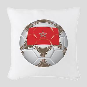 Championship Morocco Soccer Woven Throw Pillow