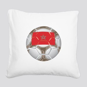 Championship Morocco Soccer Square Canvas Pillow