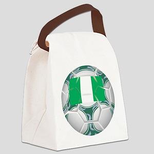 Championship Nigeria Soccer Canvas Lunch Bag
