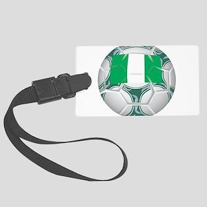 Championship Nigeria Soccer Large Luggage Tag