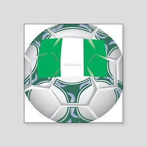 """Championship Nigeria Soccer Square Sticker 3"""" x 3"""""""
